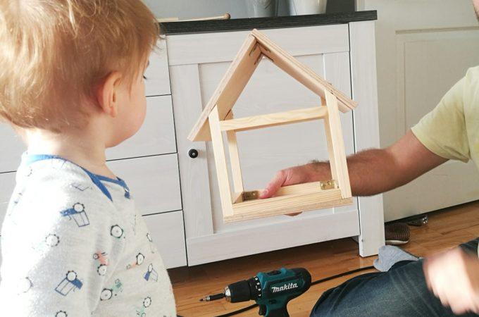 DIY: Karmnik dla ptaków – część 1.