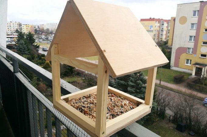 DIY: Karmnik dla ptaków – część 2.