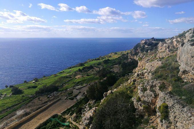 Ciekawe miejsca: Malta dzień 3. Mdina, Rabat i klify Dingli.