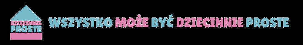 Logo dziecinnieproste.com.pl