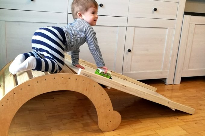 DIY: zjeżdżalnia do bujaka