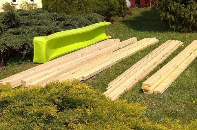 Budowa domku dla dzieci – część 2 (materiały)