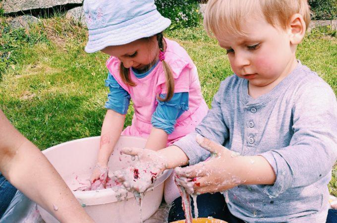 DIY: slime ze składników spożywczych