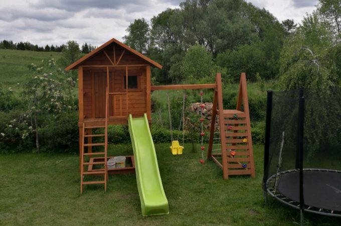 Budowa domku dla dzieci część 4 – (budowa i wykończenie)