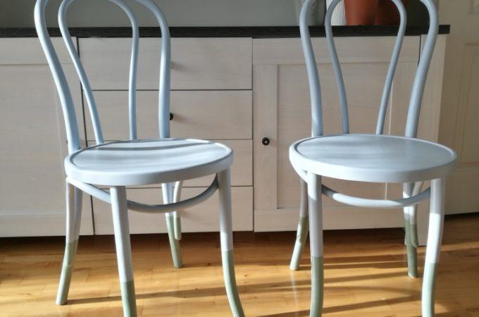 Renowacja drewnianych klasycznych krzeseł giętych