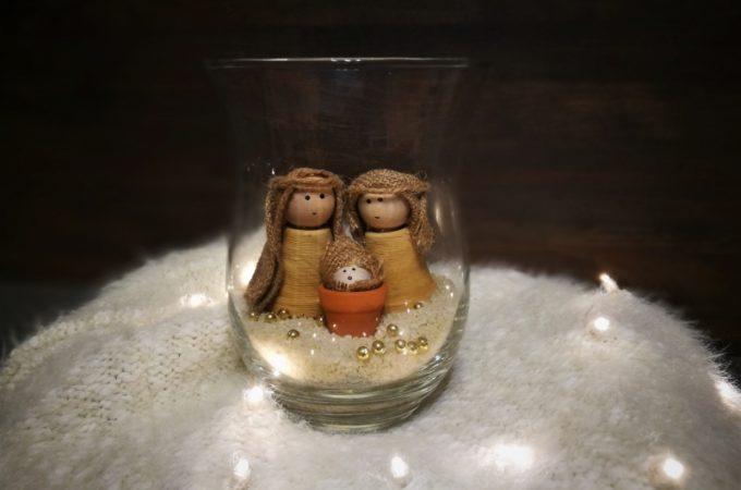 #świąteczneaktywności Szopka DIY