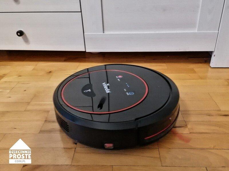 robot sprzątający vileda odkurzacz vr 302 opinie