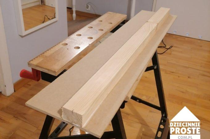 DIY Uniwersalna prowadnica do ręcznej elektrycznej piły tarczowej  lub zagłębiarki