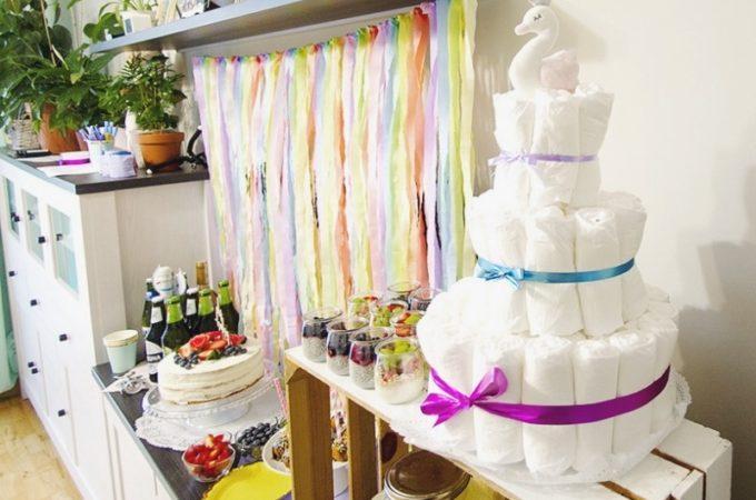 Baby Shower – jak zrobić tort pieluszkowy DIY