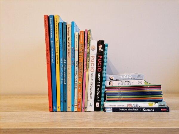 Najlepsze książki dla dzieci w wieku 0-6 lat