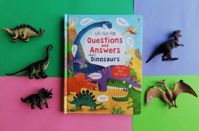 Questions and answers about Dinosaurs – recenzja książki