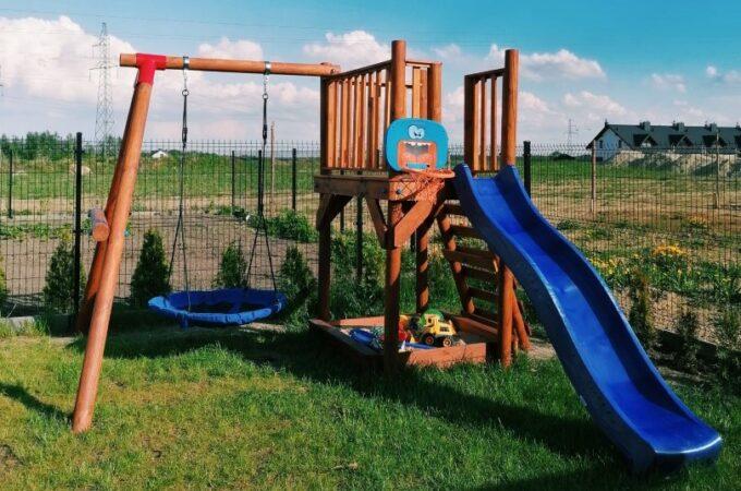 Budujemy plac zabaw dla dzieci część 2